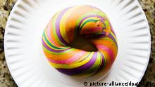 Rainbow Bagels in New York