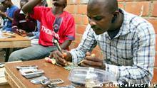 Nigeria Reparatur von Handys