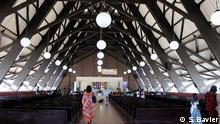 Katholische Kirche Assinie in der Elfenbeinküste (S. Bavier)