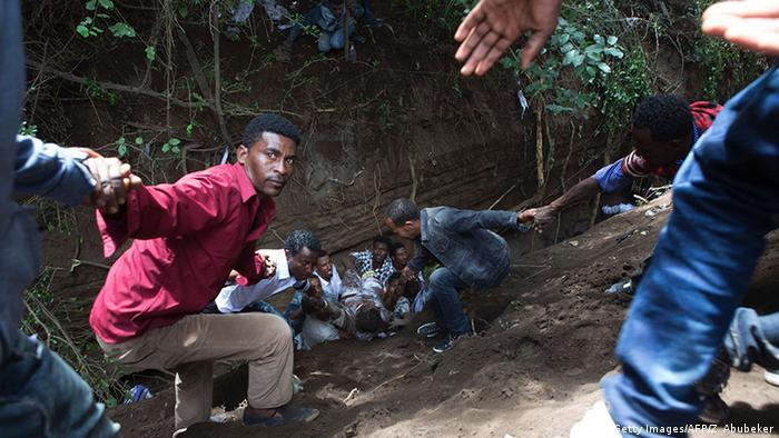 Äthiopien Unruhen (Getty Images/AFP/Z. Abubeker)