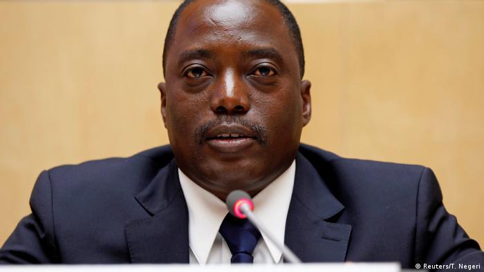 Äthiopien der Präsident der demokratischen Republik Kongo Joseph Kabila