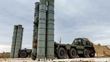 Syrien russisches Raketenabwehrsystems S-300 (picture alliance/Russian Look/V. Savitsky)