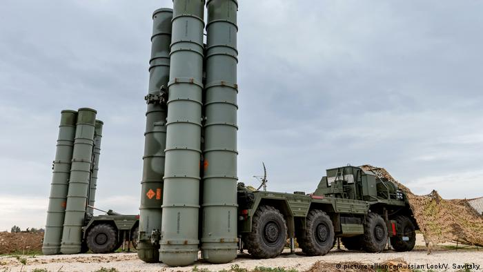Syrien russisches Raketenabwehrsystems S-300
