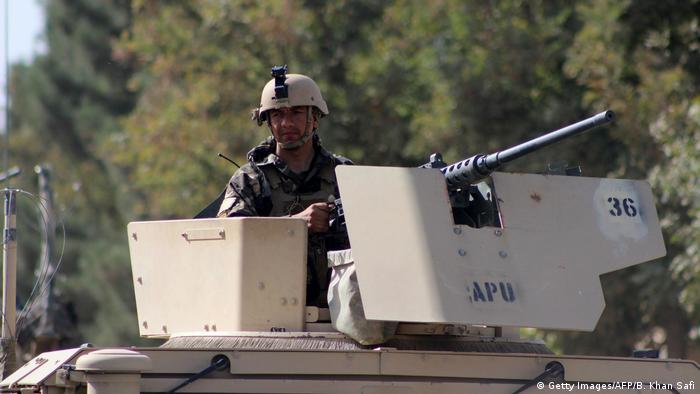 Afghanistan Kämpfe um Kundus Spezialkräfte der Afghanischen Armee
