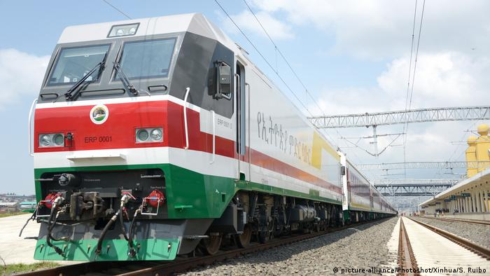 Äthiopien Addis Ababa - Neuer Zug verbindet Hafen und Stadtzentrum