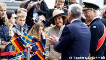Deutschland Staatsbesuch Königin Silvia und König Carl XVI Gustaf von Schweden