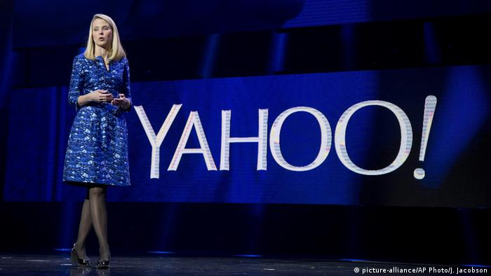 Marissa Mayer (picture-alliance/AP Photo/J. Jacobson)