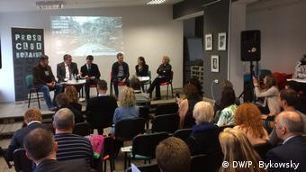 Weißrussland Minsk - Präsentation über Wesna Bericht zur Todesstrafe in Weißrussland