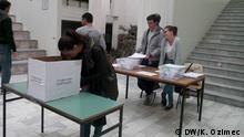 05.10.2016 ***** Referendum über die Studentenvertretung an der Uni Skopje, Mazedonien, 05.09.2016, Skopje, Copyright: DW/K. Ozimec