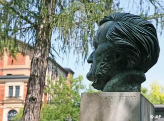 Richard Wagner bust in Bayreuth