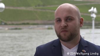 Голова молодіжки німецьких правих популістів з АдН Маркус Фронмаєр