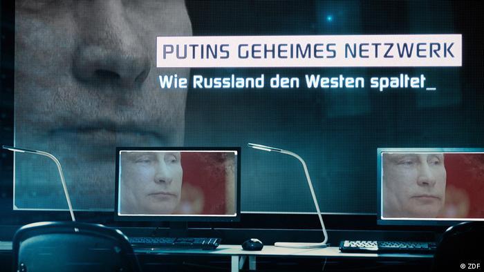 ZDF Frontal21 Beitrag Putins geheimes Netzwerk