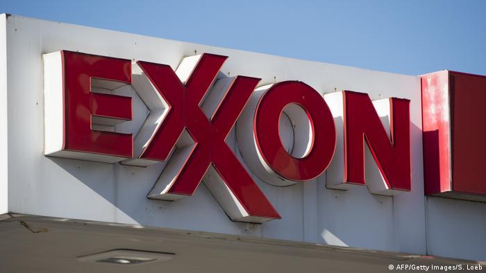 Logo Exxon Symbolbild Kontamination