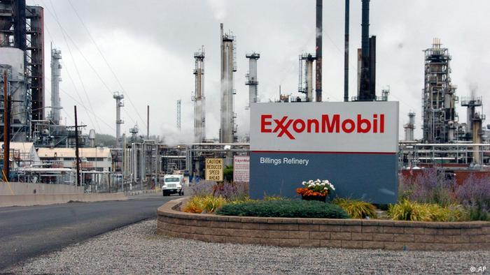 Exxon refinery in Billings, Montana