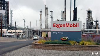 Exxon Raffinierie in Billings