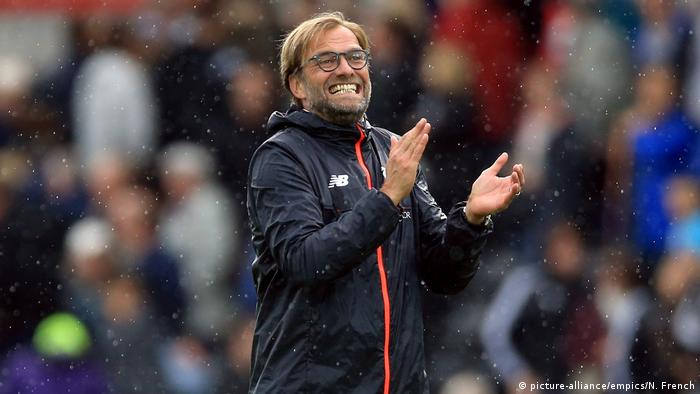 England Fußballtrainer FC Liverpool Jürgen Klopp (picture-alliance/empics/N. French)