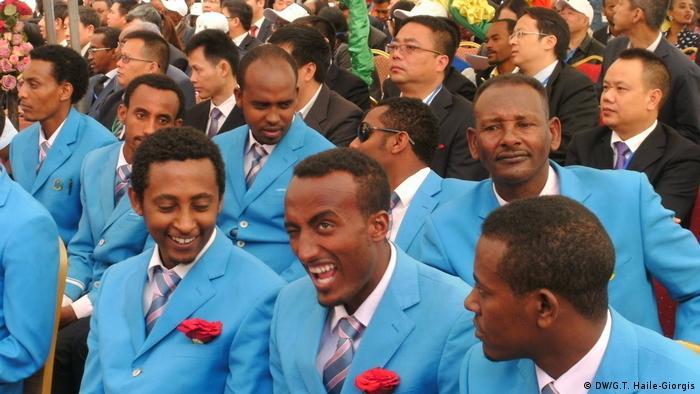 Äthiopien Einweihung von neuer Bahnstrecke (DW/G.T. Haile-Giorgis)