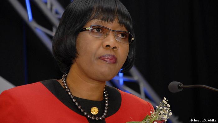 Namibias Ministerpräsidentin Saara Kuugongelwa (Archivbild)
