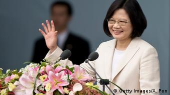 Taiwan's President Tsai Ing-weh took over in March after a landslide election victory