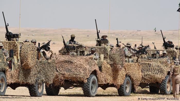 Saudi-Arabien Marine-Übungen (Getty Images/AFP/F. Nureldine)