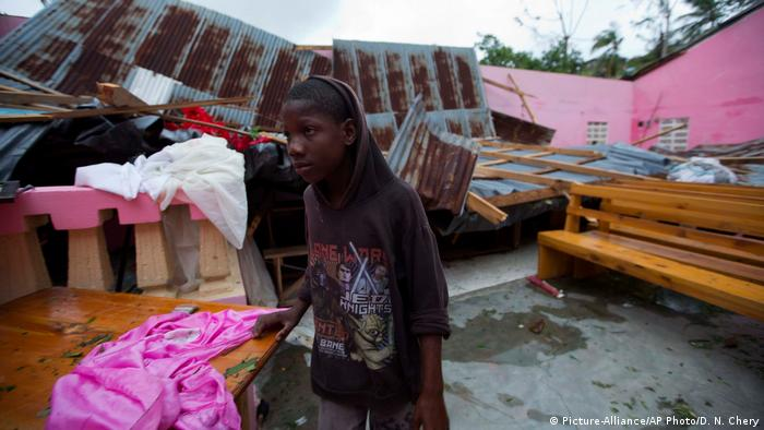 Haiti Hurricane Matthew in Saint-Louis (Picture-Alliance/AP Photo/D. N. Chery)