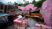 Haiti Hurricane Matthew Folgen