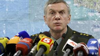 Vize-Generalstabschef Anatoli Nogowizyn, Quelle: AP