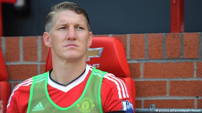 England Fußball Manchester United, Bastian Schweinsteiger (picture-alliance/dpa/P. Powell)