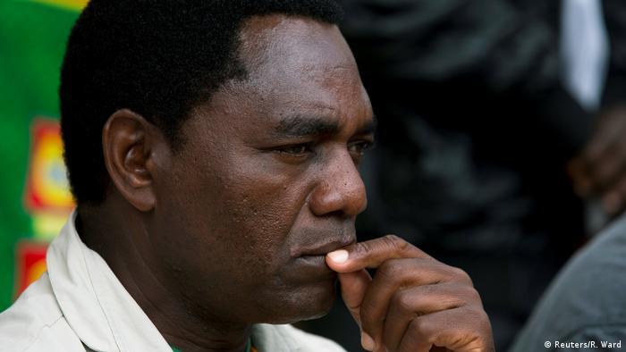 Sambia Lusaka Hakainde Hichilema (UPND) (Reuters/R. Ward)