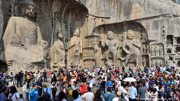 China - Tourismusrekord während der Golden Week (picture-alliance/dpa/L. Weichao)