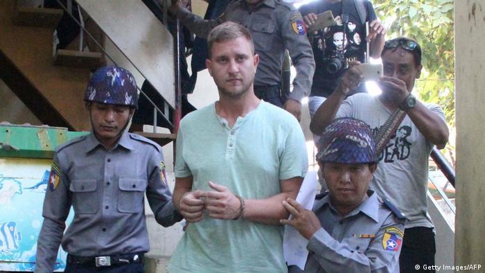 Myanmar Verhaftung Klaas Haytema