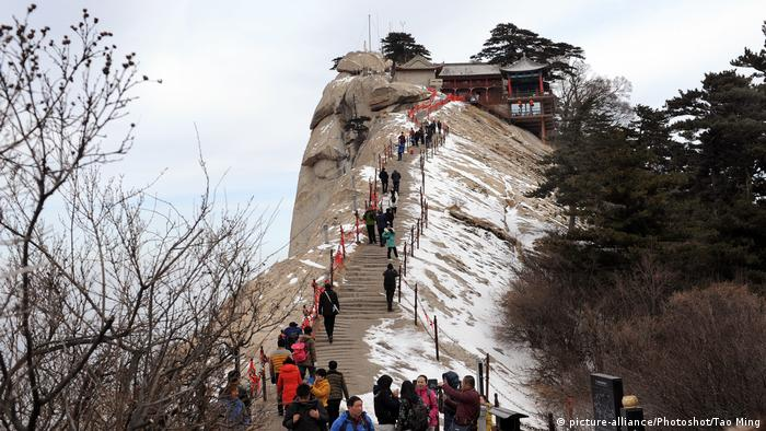 China - Hua Shan Gebirge, (picture-alliance/Photoshot/Tao Ming)