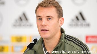 Alman Milli Takımı Kaptanı Manuel Neuer