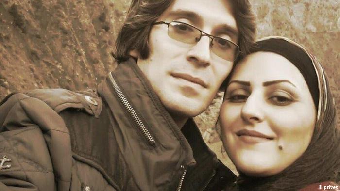 Iran Golrokh Ebrahimi und Arash Sadeghi (privat)