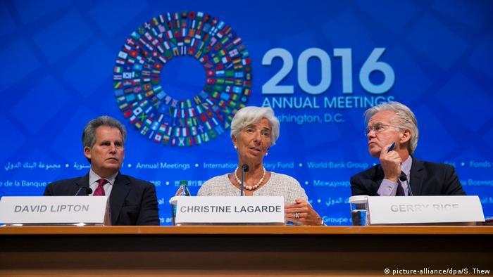 USA Washington 2016 Treffen von Weltbank und IWF