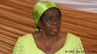 Mosambik Inhambane alte Frau