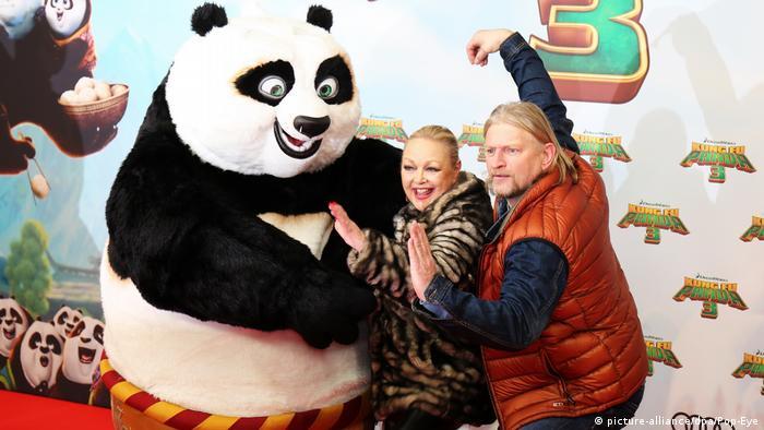Kung Fu Panda 3 é uma produção da chinesa Pearl Studio em parceria com a americana Dreamworks Animation