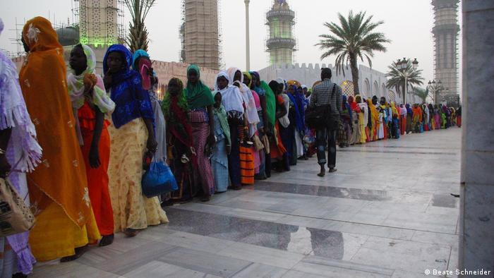 Touba pilgrims in Senegal (Beate Schneider)