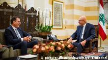 Libanon Beirut Entwicklungsminister Müller