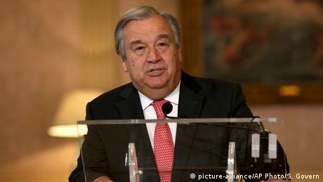 Portugal Lissabon Antonio Guterres (picture-alliance/AP Photo/S. Govern)