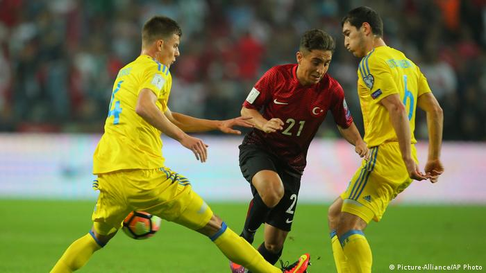 WM-Qualispiel Türkei gegen Ukraine (Picture-Alliance/AP Photo)