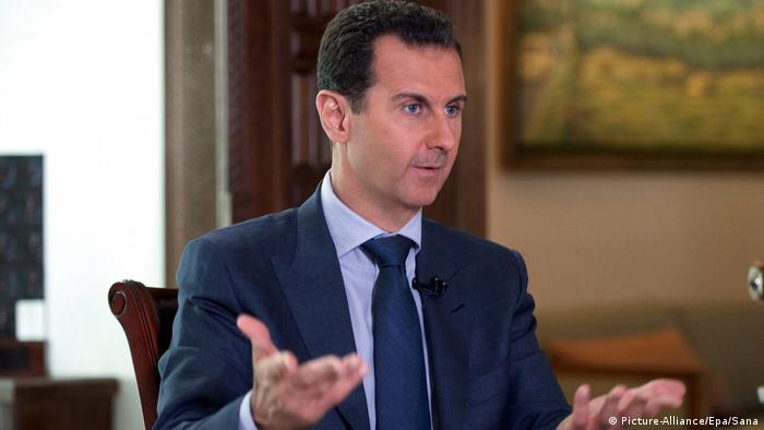 الرئيس السوري بشار الأسد في حوار تلفزيوني في دمشق 22.09.2016