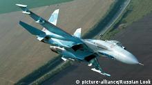 Russland Kampfjet Sukhoi Su-27