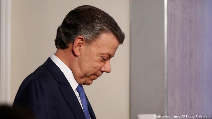 Kolumbien Juan Manuel Santos Präsident Friedensnobelpreisträger 2016