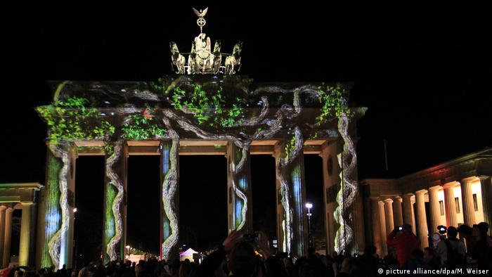 Deutschland festival of Lights in Berlin (picture alliance/dpa/M. Weiser)