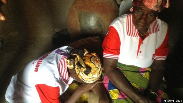 Two Ghanaian women
