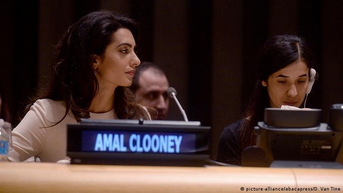 UN Amal Clooney (picture-alliance/abacapress/D. Van Tine)