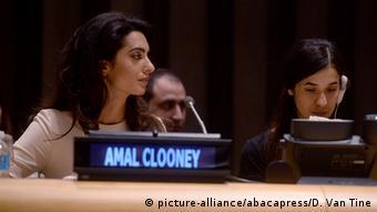 UN Amal Clooney