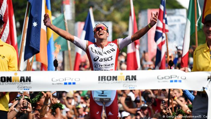 Ironman Hawaii Jan Frodeno (Getty Images/Ironman/D. Carr)