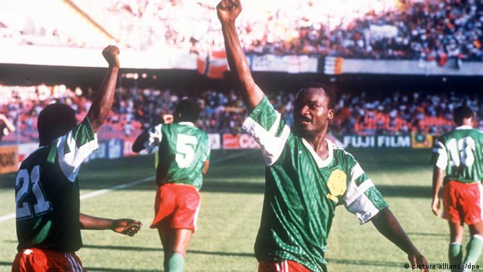 Fußball-WM 1990 Kamerun